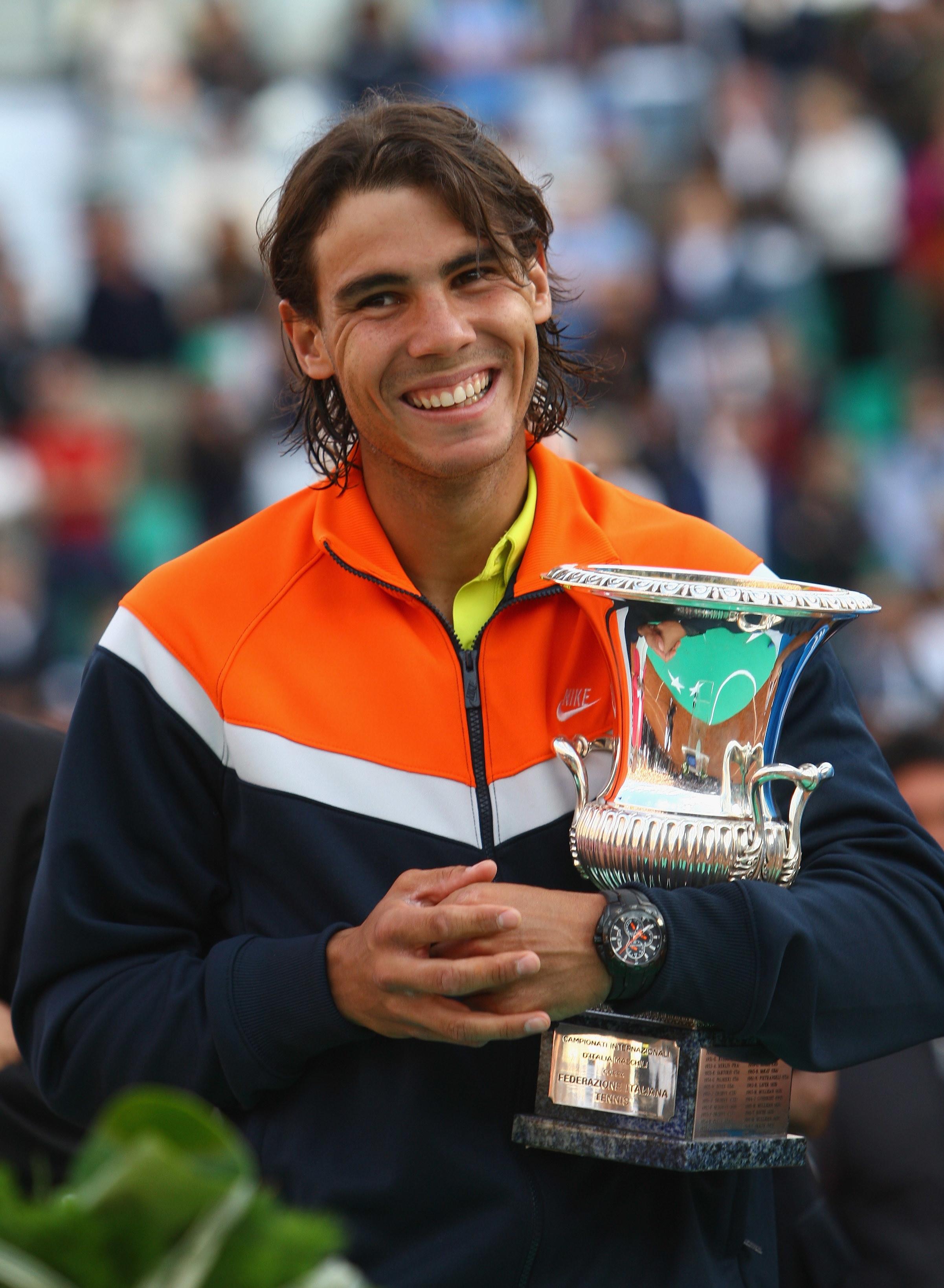 Nel 2009 e nel 2010 riecco Nadal: il mancino spagnolo ha così raggiunto quota cinque titoli al Foro Italico, record del torneo.