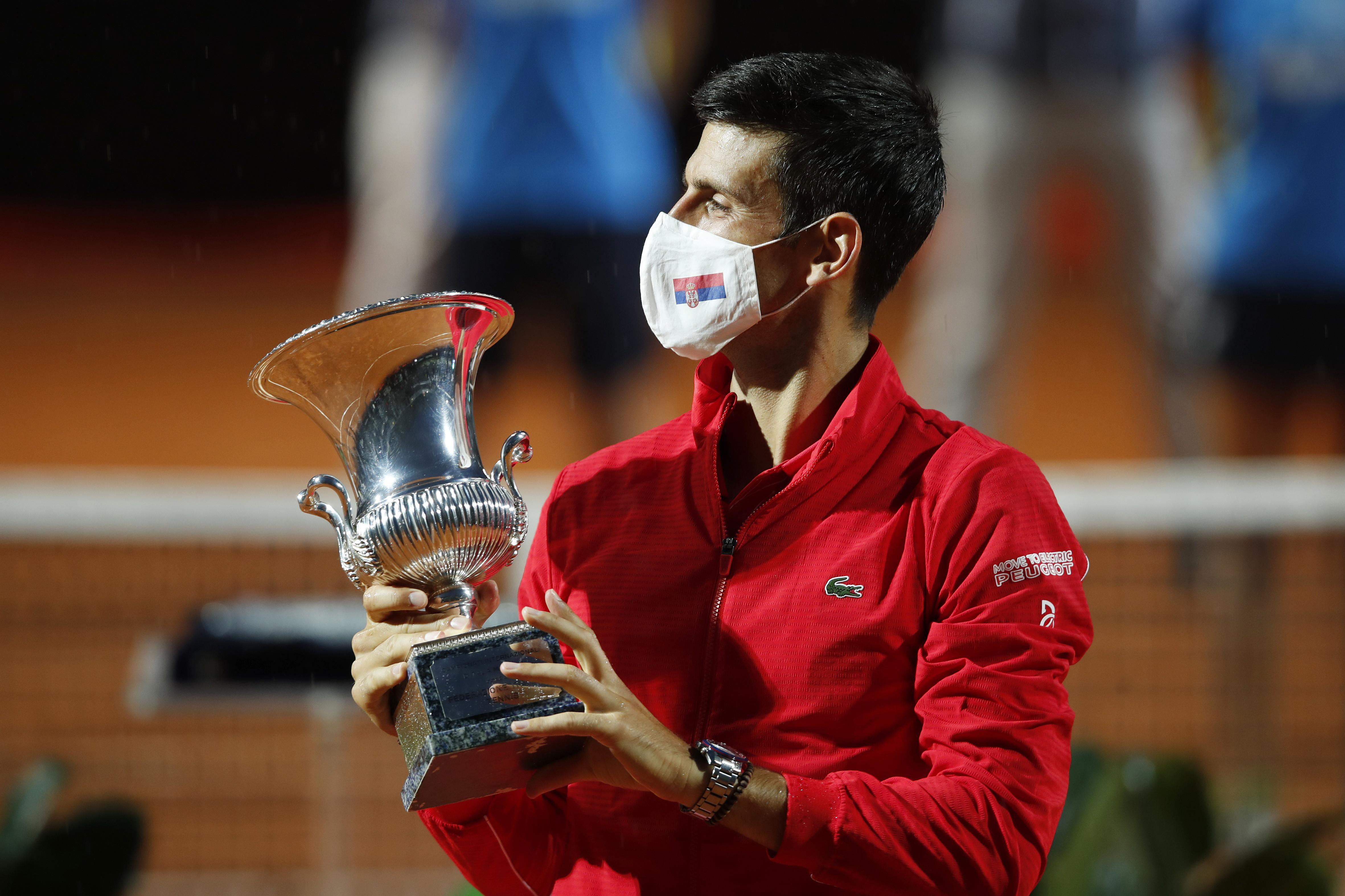 Nel 2020, a trionfare per la sua quinta volta in suolo romano, è il numero 1 al mondo Djokovic ai danni dell'argentino Schwartzman.
