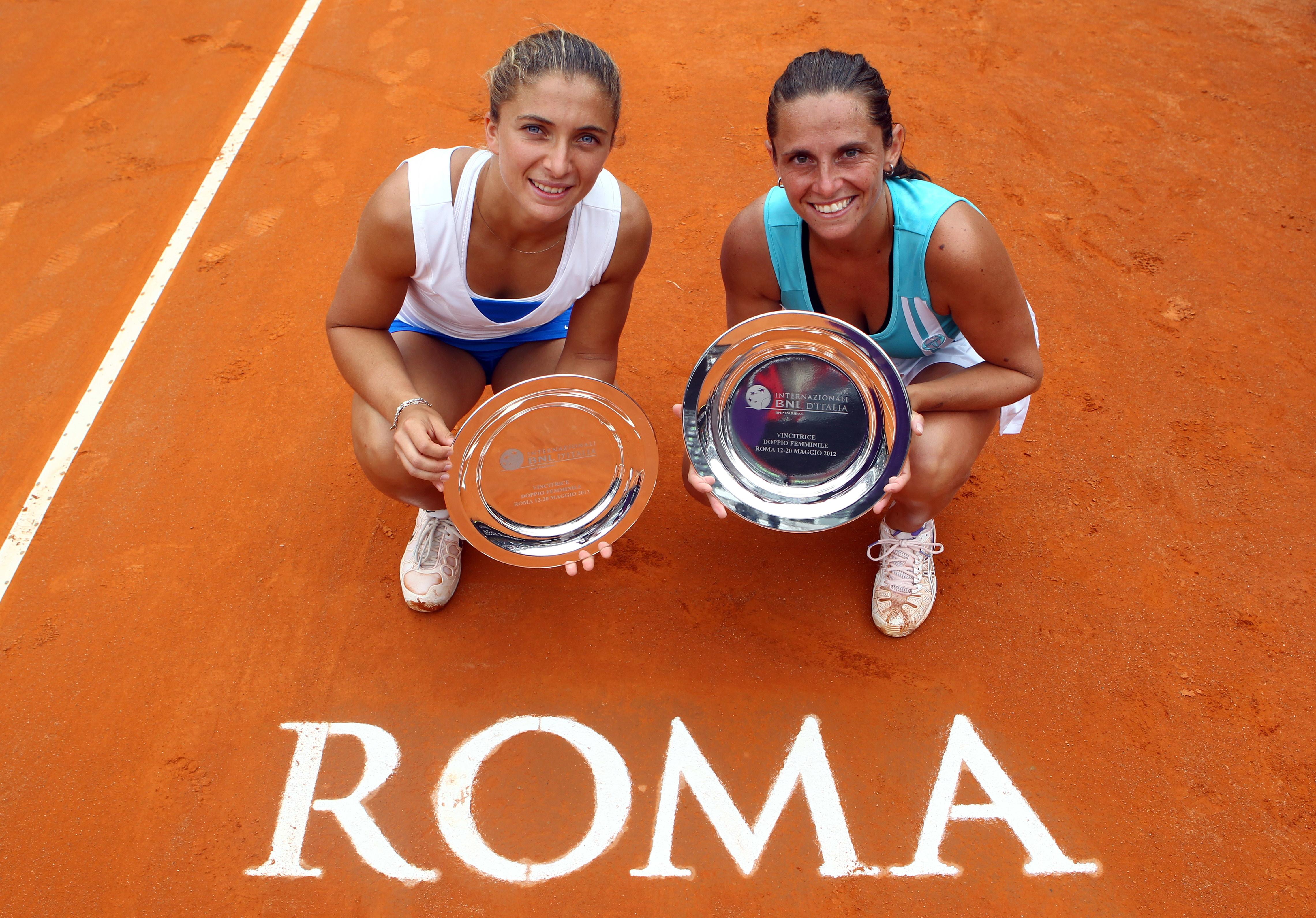 Nel 2012 anche un successo azzurro: Sara Errani e Roberta Vinci hanno conquistato il titolo di doppio.