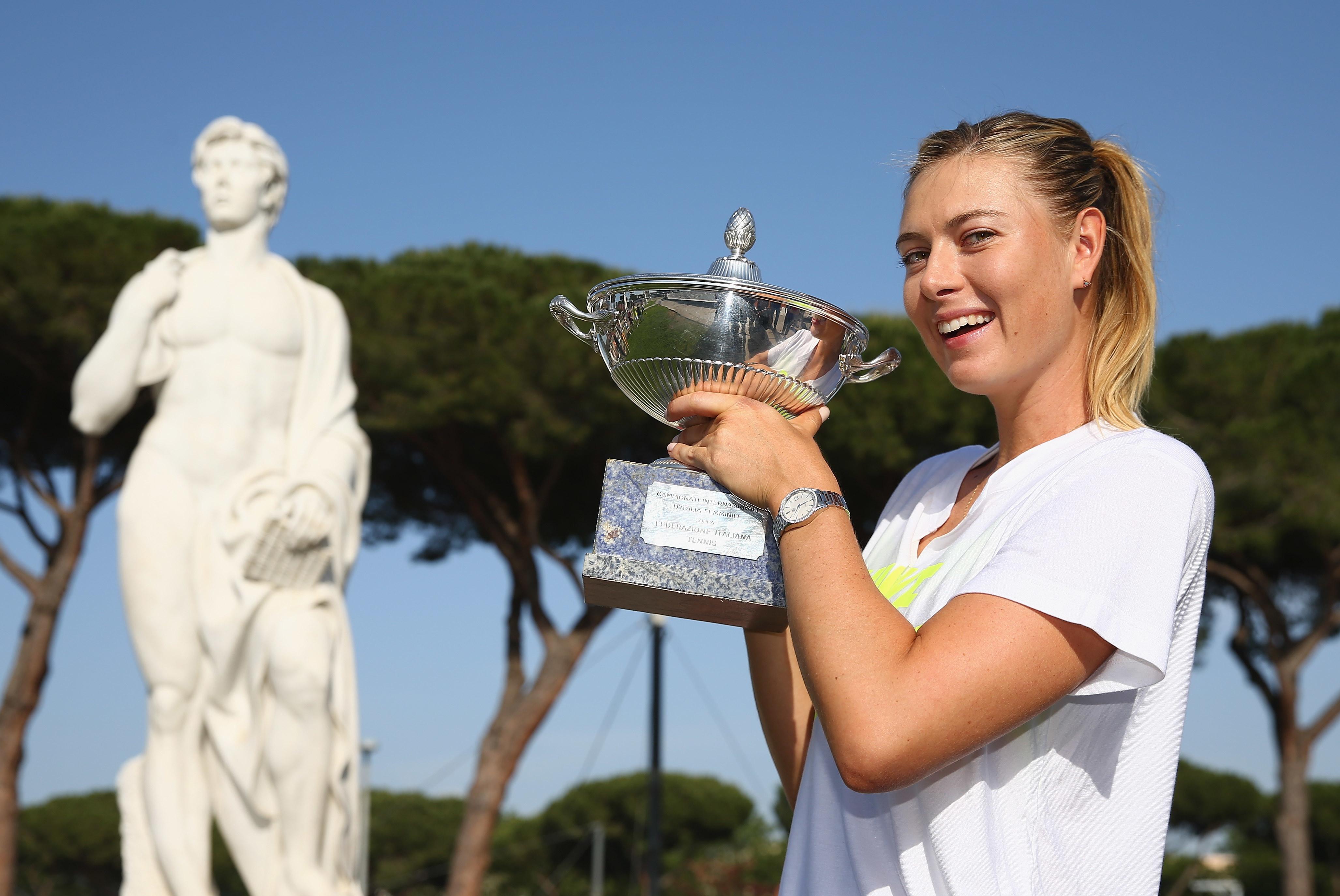 Nel 2015 terzo sigillo per Maria Sharapova.