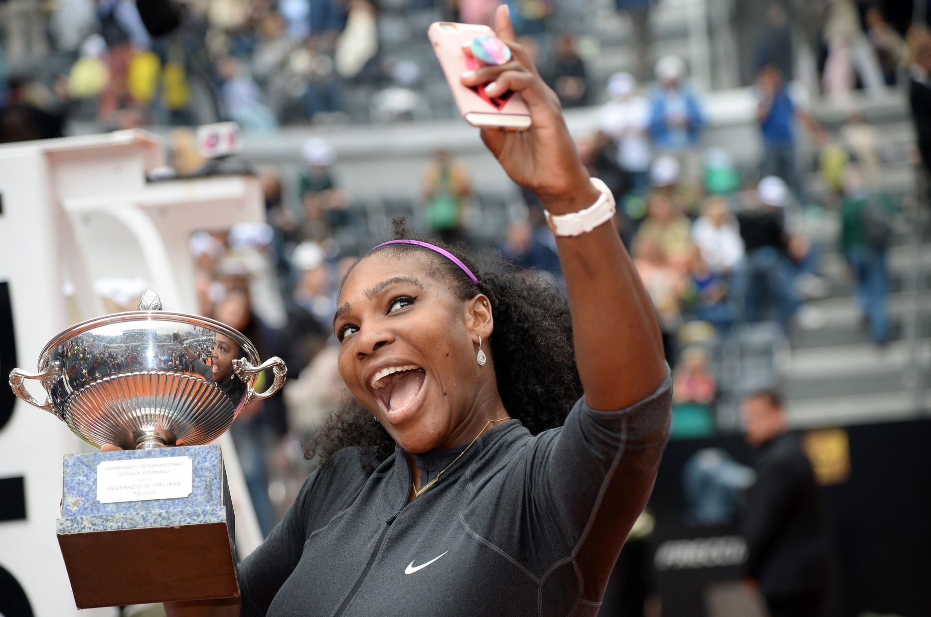 Il 2016 è l'anno di Serena Williams che trionfa per la quarta volta.
