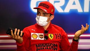 """Leclerc: """"Motivati per tornare al livello Ferrari e lottare per il titolo"""""""