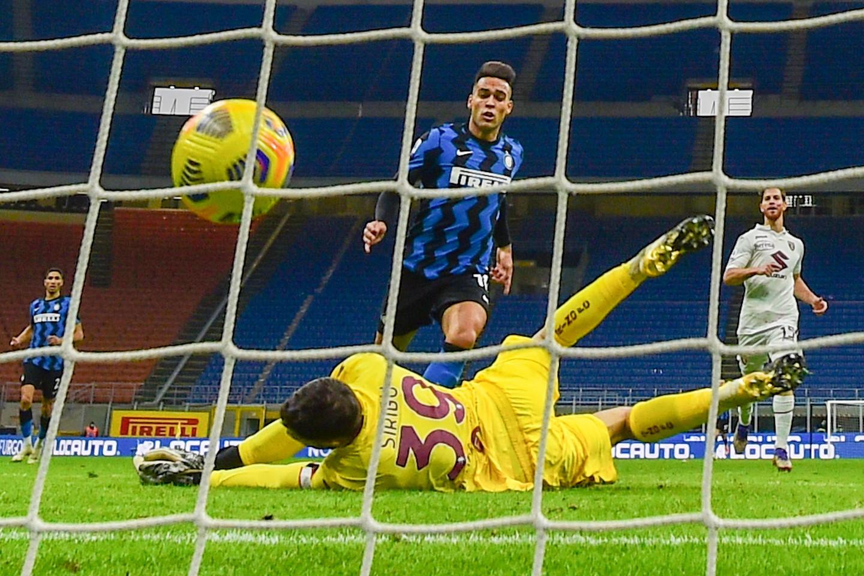 <p>Inter-Torino 4-2, 22 novembre: sotto di due gol al 62', i nerazzurri vincono in rimonta</p>