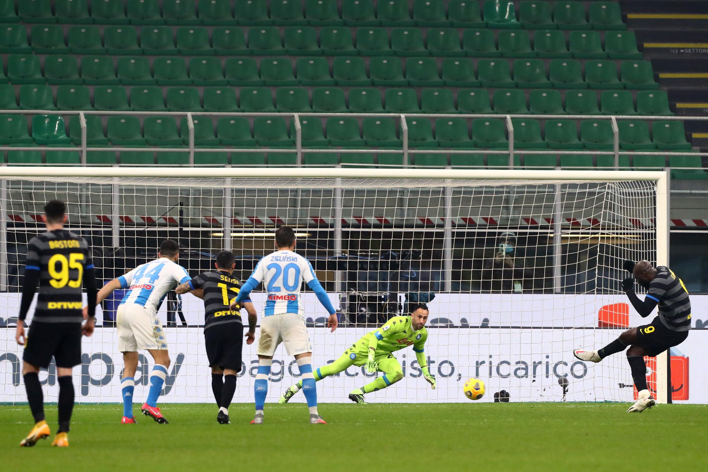 Inter-Napoli 1-0, 16 dicembre: vittoria nello scontro diretto, di misura e in infrasettimanale