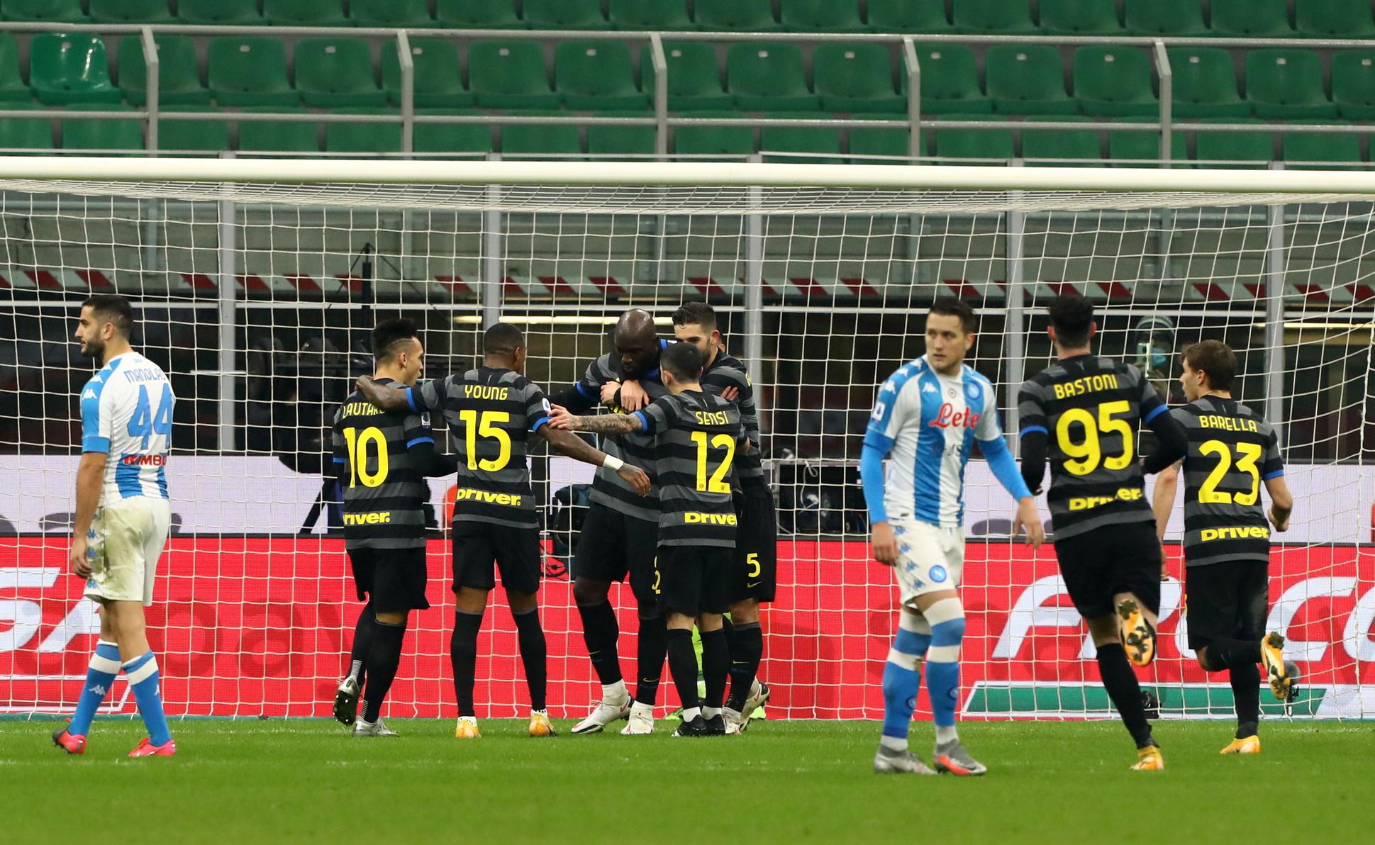 Inter-Napoli 1-0, 16 dicembre: decide un rigore di Lukaku