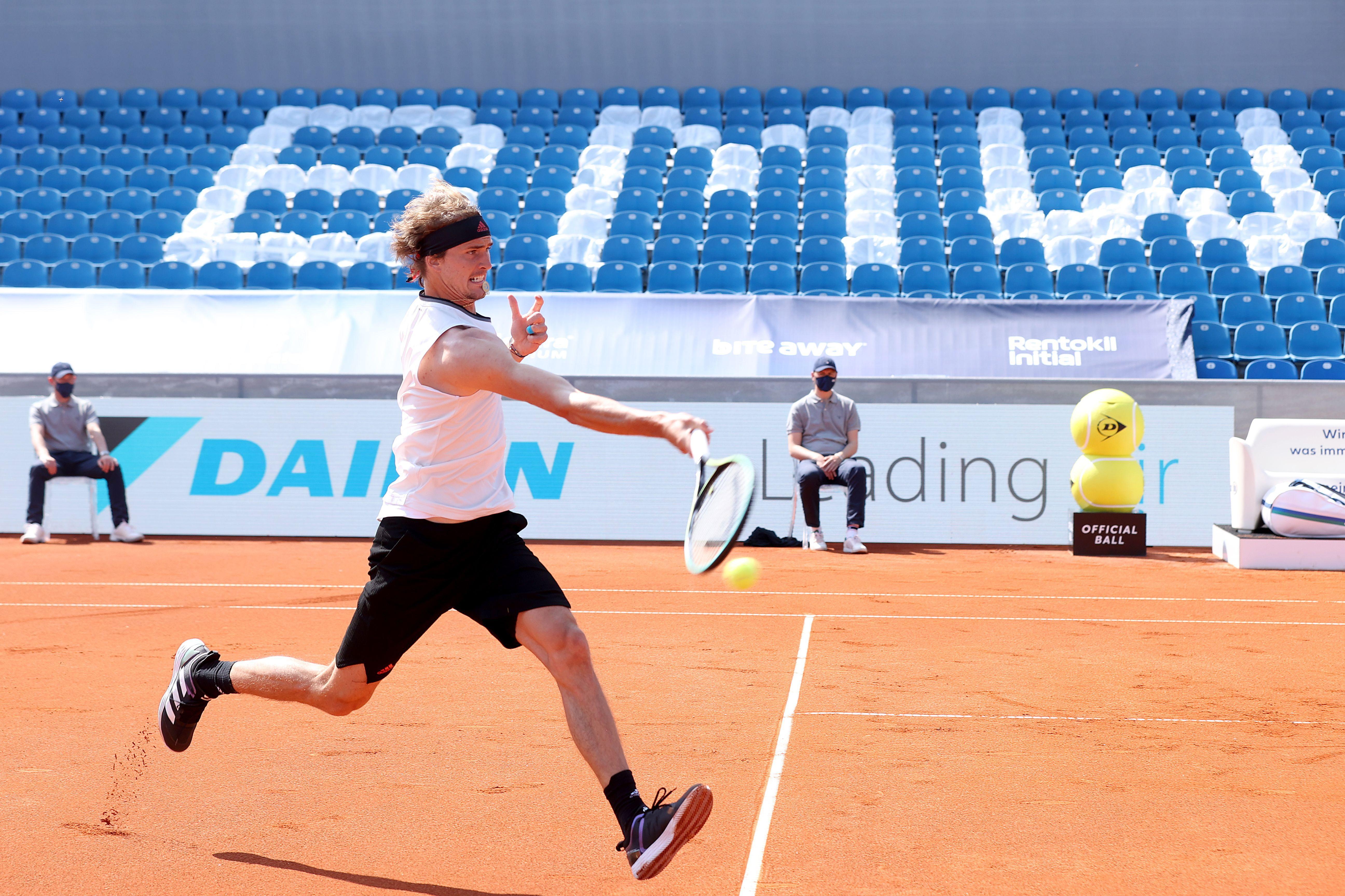 Il tedesco Alexander Zverev, campione dell'edizione 2017 e finalista l'anno successivo a Roma.
