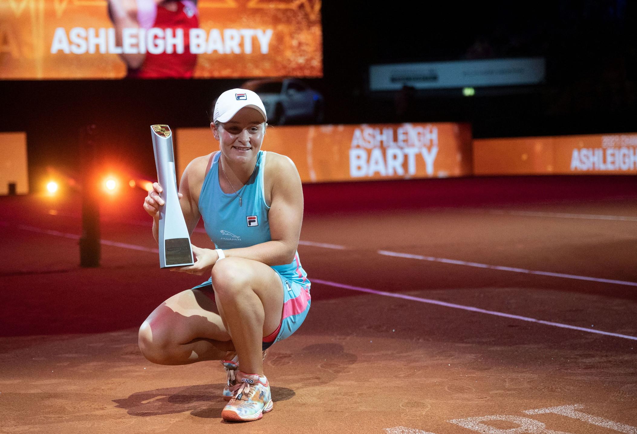 A caccia di un risultato di prestigio sul rosso della Città Eterna l'australiana Ashleigh Barty, regina della classifica WTA e vincitrice del Roland Garros 2019.