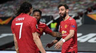 United troppo forte, la Roma dura un tempo: i Red Devils dilagano e vedono la finale