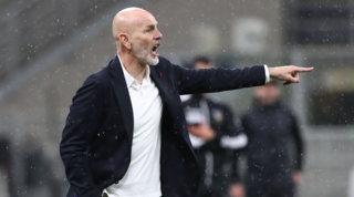 """Pioli: """"Tutti qui vogliamo la Champions, non pensiamo alla Juve"""""""