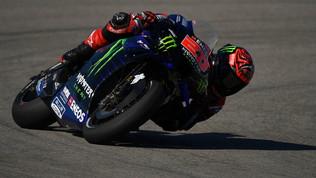 Quartararo fa la pole, Marquez e Rossi esclusi eccellenti