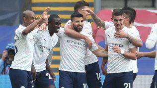 Il City affonda il Crystal Palace,titolo a un passo. Chelsea ok