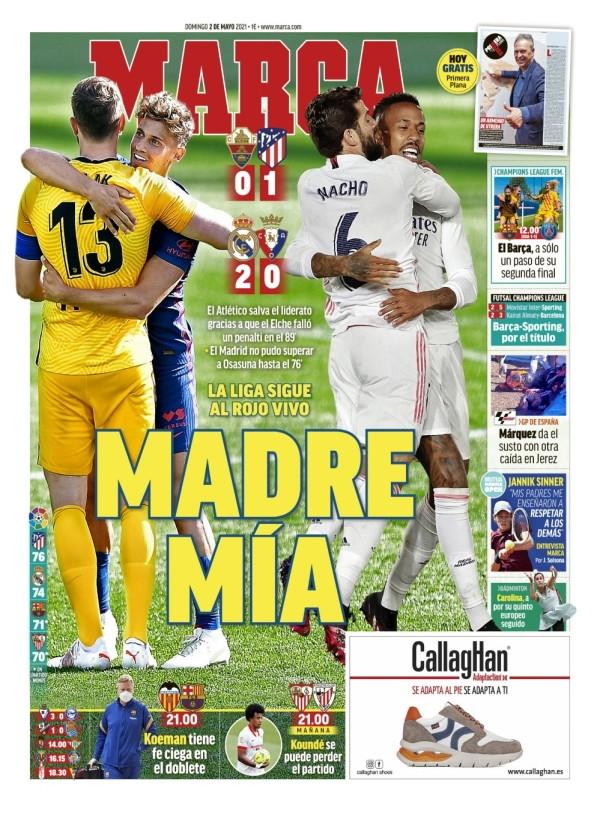 Le prime pagine dei quotidiani stranieri. Oggi quelli italiani non sono in edicola<br /><br />