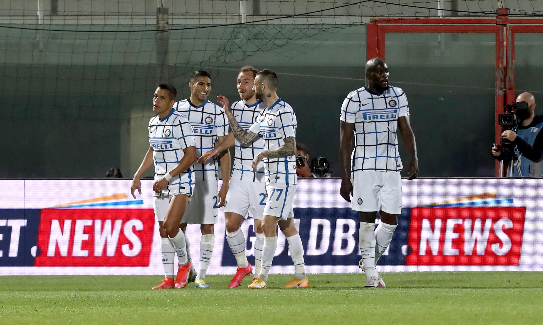 Crotone-Inter 0-2, 1 maggio: gol di Eriksen e Hakimi