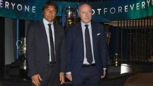 """Marotta: """"Feeling con Conte: spero resti al 100%, non c'è piano B"""""""