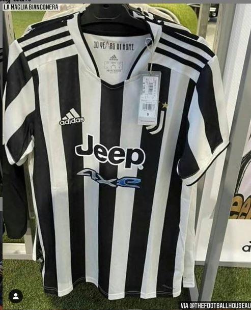 Juventus, ecco la nuova maglia. Classica e senza tricolore | Foto ...