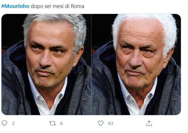 Il clamoroso annuncio di Mourinho alla Roma ha fatto subito impazzire i social, facendo diventare immediatamente virale lo Special One&nbsp;tra meme e sfott&ograve;.<br /><br />