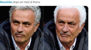 Mou alla Roma, i social impazziscono: meme e sfottò