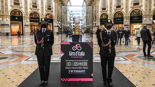 Ecco il Giro d'Italia 2021: partenza a Torino, arrivo a Milano