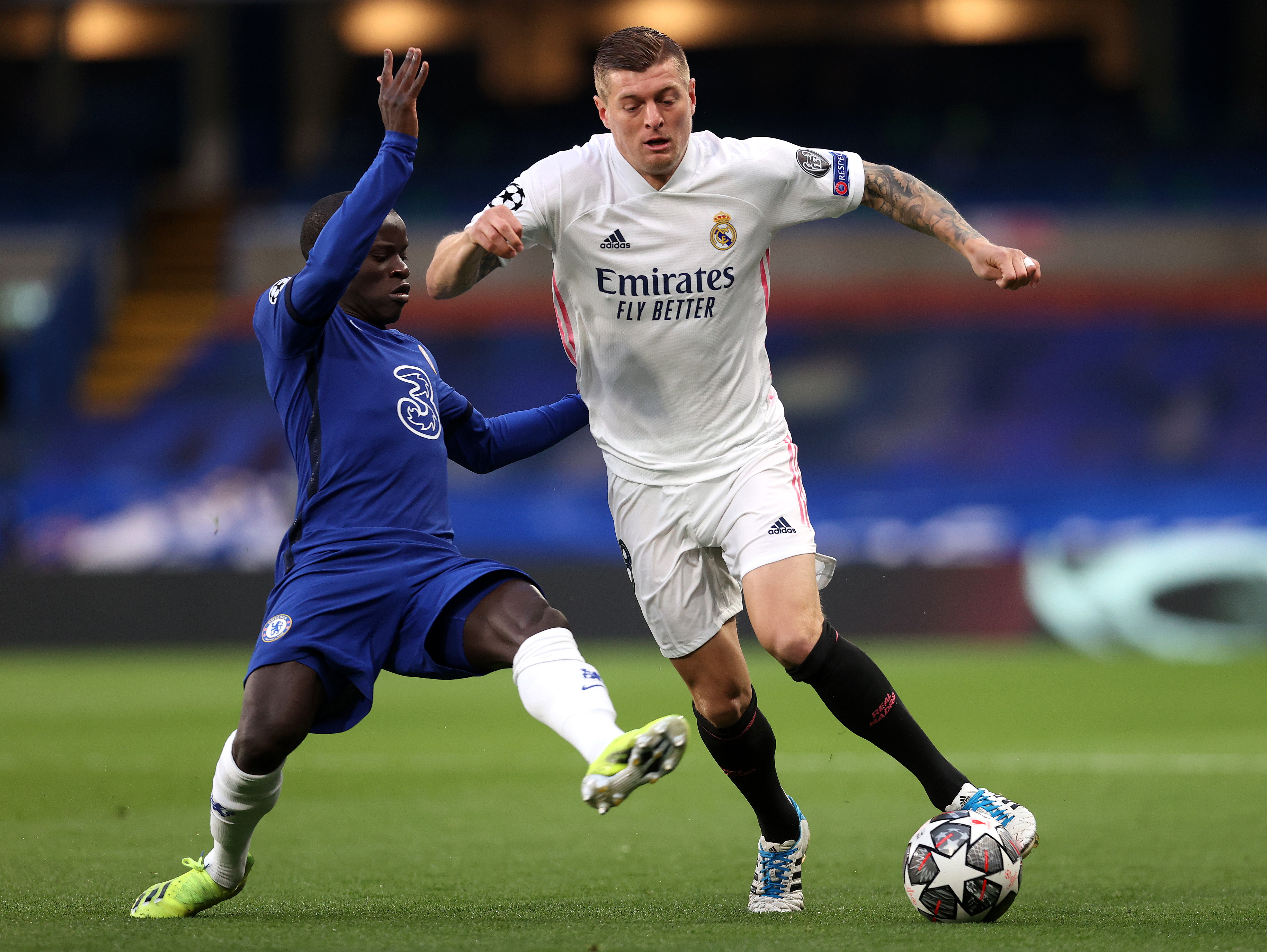 Chelsea-Real Madrid 2-0, le migliori foto della semifinale di ritorno di Champions League.<br /><br />