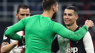 Juve-Milan, all-in:in gioco la Champions e il futuro di CR7 e Gigio