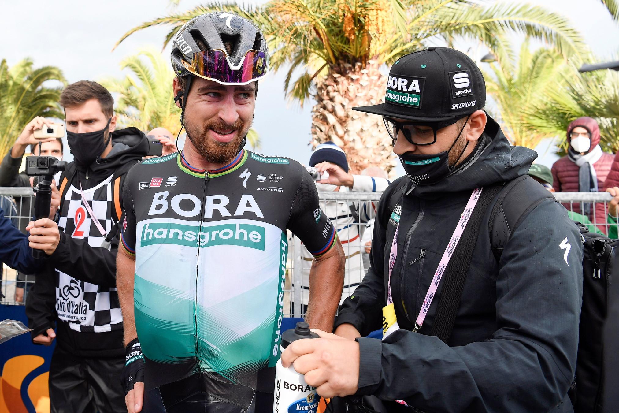 Ci sarà il tre volte campione del mondo Peter Sagan (Bora-Hansgrohe).