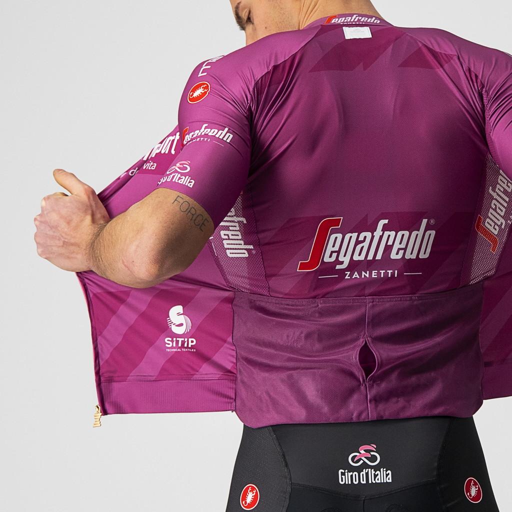 <p>È la maglia che premia la classifica a punti, riservata ai velocisti. Nel 2020 è stata conquistata da Arnaud Démare di Groupama-FDJ.</p>