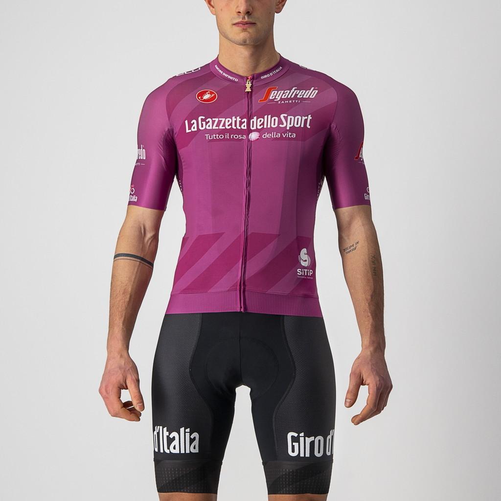 È la maglia che premia la classifica a punti, riservata ai velocisti. Nel 2020 è stata conquistata da Arnaud Démare di Groupama-FDJ.