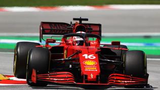 """Leclerc e Sainz: """"Giornata incoraggiante, sappiamo dove migliorare"""""""