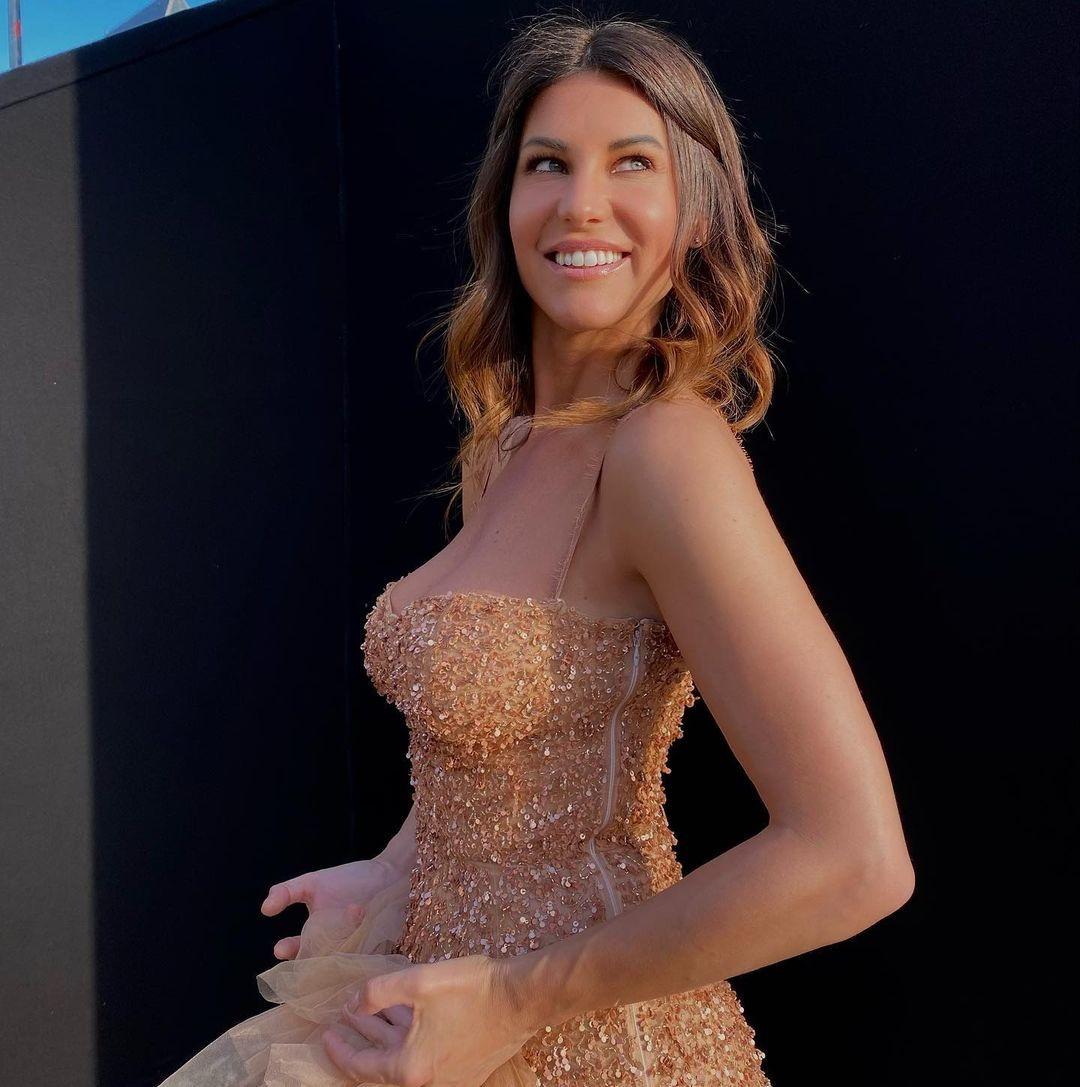 Barbara Pedrotti, madrina del Giro d'Italia e conduttrice di Drive Up, in onda ogni sabato su Italia 1.