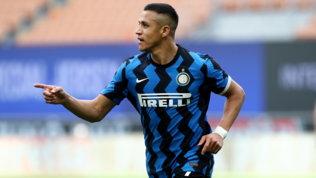 Carroarmato Inter, Sanchez schianta la Samp e firma la festa a San Siro