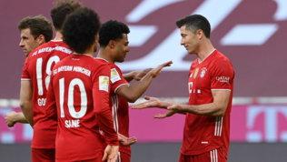 Sancho piega il Lipsia, il Bayern festeggia il titolo con un 6-0