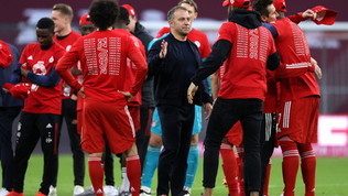 Bayern, esplode la festa per la nona Bundesliga consecutiva