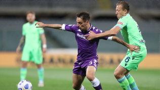 Super Vlahovicfa crollare la Lazio, la Viola avvicina la salvezza