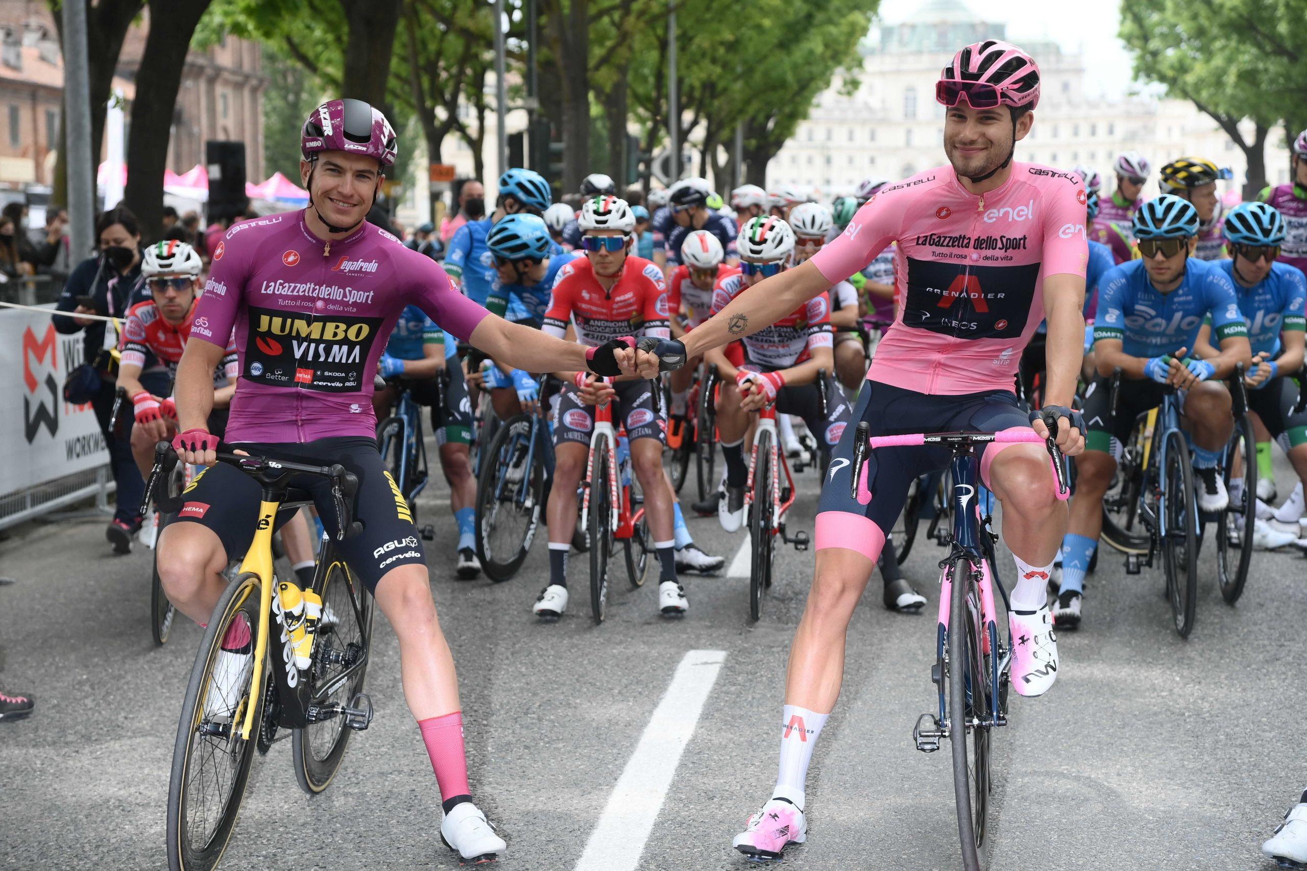 <p>Il belga Tim Merlier ha vinto allo sprint la seconda tappa del 104º Giro d'Italia. Filippo Ganna ha conservato la maglia rosa.</p>