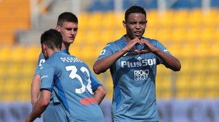 L'Atalanta non sbaglia, cinquina per la Champions: travolto il Parma