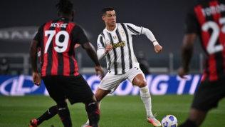 Diaze Rebicfanno magie, Ronaldo è un fantasma: Pirlo, che disastro