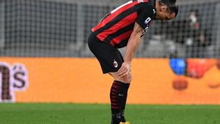 Ibrasi fa male al ginocchio sinistro: Milan in ansia