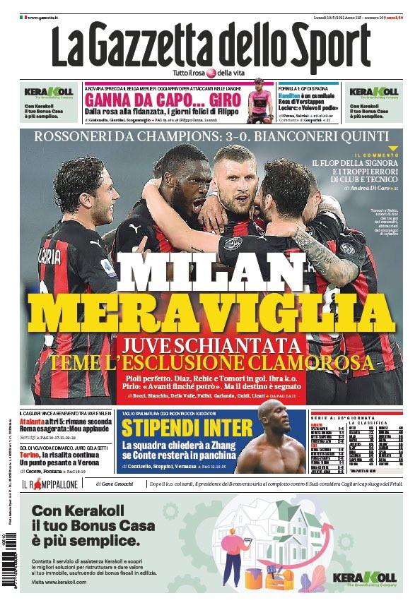 Le prime pagine, e non solo, dei quotidiani italiani ed esteri in edicola&nbsp;<br /><br />