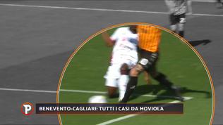 Benevento-Cagliari, che bufera