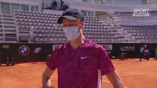 """Sinner: """"Non esistono vittorie facili, ora Nadal"""""""