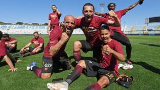 Salernitana promossa in Serie A: che festa sul campo