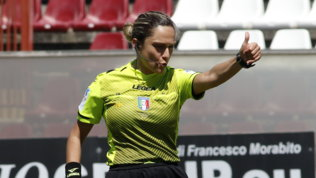 Esordio di Marotta: primo arbitro donna in Serie B