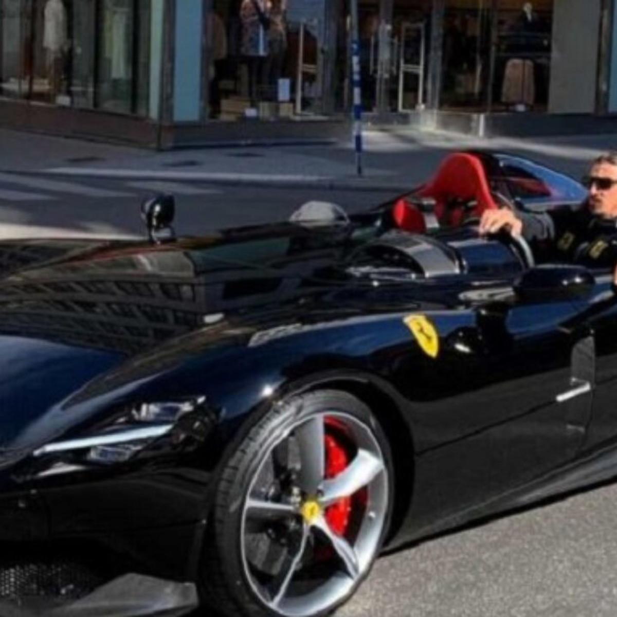 CR7 come Ibra: si è comprato la SP2 Monza da un 1,6 milioni