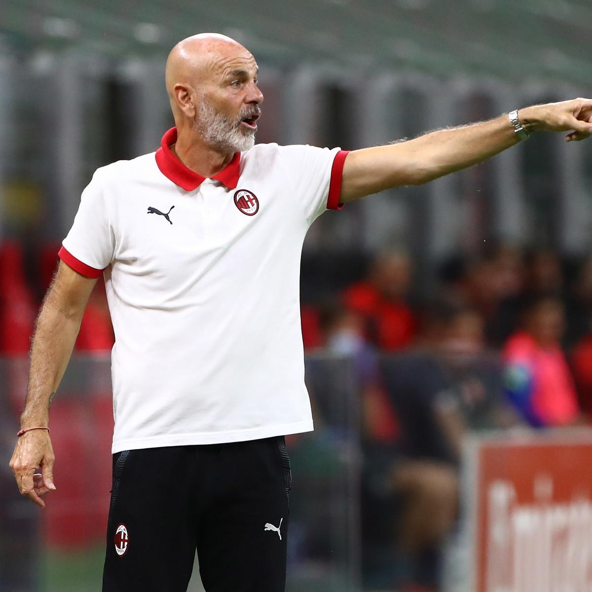 """Pioli: """"Ibra out con Torino e Cagliari. Gigio? Alla fine tireremo le somme"""""""