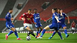 Il Leicester sbanca Old Trafford, il City è campione d'Inghilterra