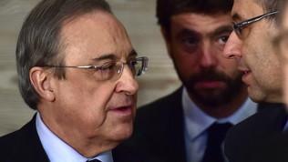 Super League:la Uefa apre un'indagine su Juve, Real e Barcellona