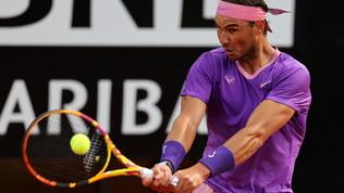 Internazionali d'Italia, Sinner-Nadal: gli scatti del match