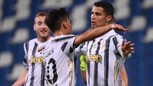 Buffon super, Ronaldo e Dybala fanno 100: la Juvecrede ancora nel 4° posto
