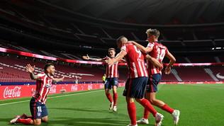 L'Atletico stende la Real Sociedad, Simeone vola a +4 sul Barcellona