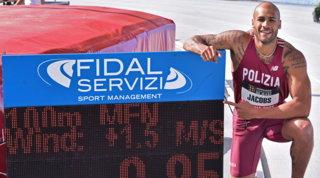 Jacobs nella storia col nuovo record italiano sui 100 metri